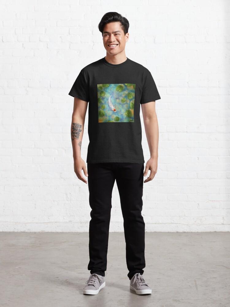 Alternate view of Koi Carp 1 Classic T-Shirt