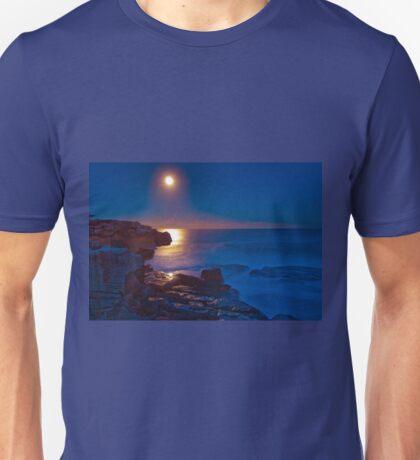 Moonrise over Shark Point T-Shirt
