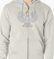 Polish Eagle Zipped Hoodie