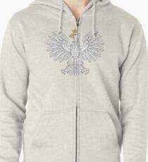 Polish Eagle Zipped Hoodie