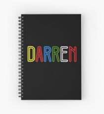 Darren - Your Personalised Products Spiral Notebook