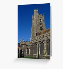 St Mary The Virgin, Haverhill, Suffolk Greeting Card