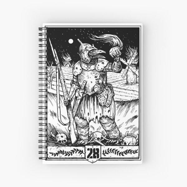 28 Weirdling Raider Black Spiral Notebook