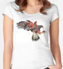 Harris Hawk Women's Fitted Scoop T-Shirt