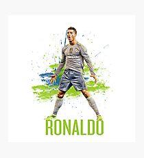 Cristiano Ronaldo 'CR7' Photographic Print