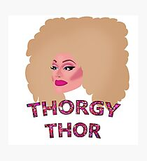 Thorgy Thor Photographic Print