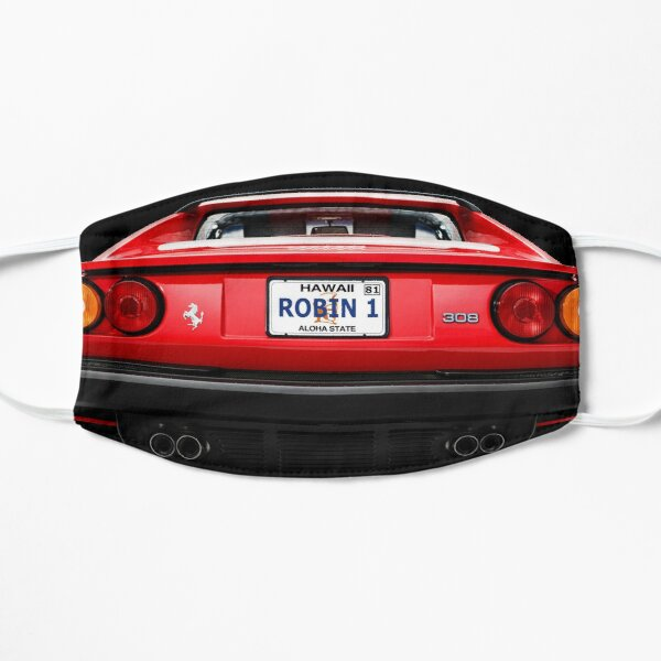 Robin 1 - Hawaii Plate - Magnum p.i. Flat Mask