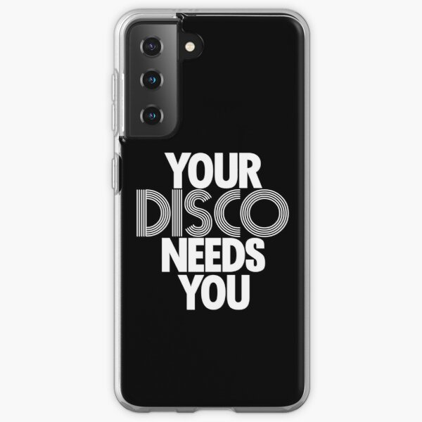Kylie Minogue - Your Disco Needs You (white text) Samsung Galaxy Soft Case