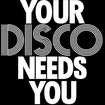 Kylie Minogue - Your Disco Needs You (white text) by shadoboxer