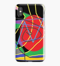 Concept of confused abstract iPhone Case/Skin
