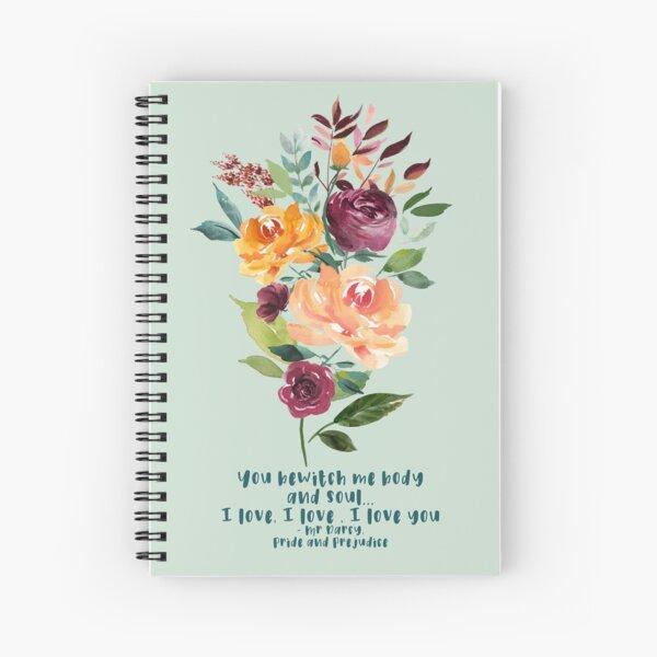 You bewitch me - Jane Austen Spiral Notebook
