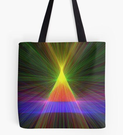 Linify Linify Light Tower, Pyramid Tote Bag