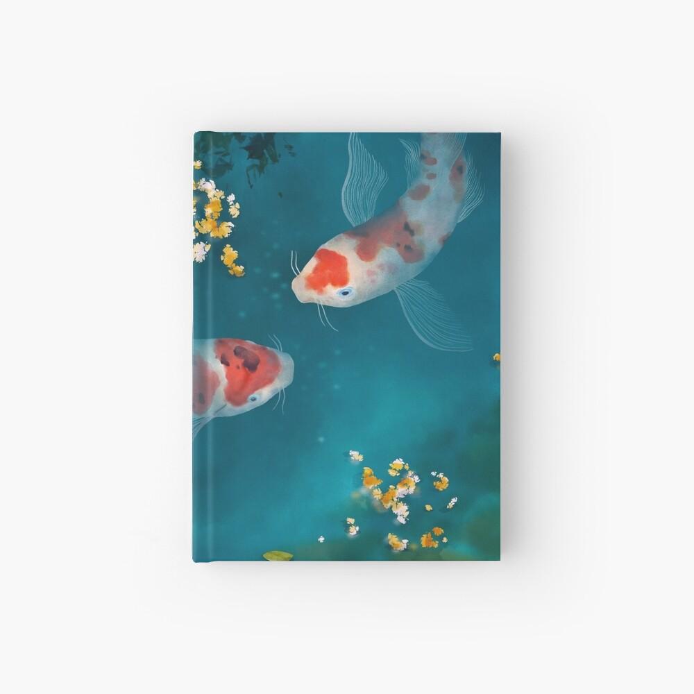 Koi Carps Hardcover Journal