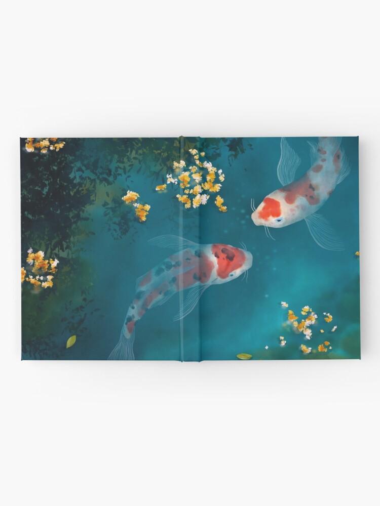 Alternate view of Koi Carps Hardcover Journal