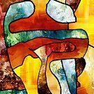 Embrace. Modern Abstract Art. by Mr Dodd