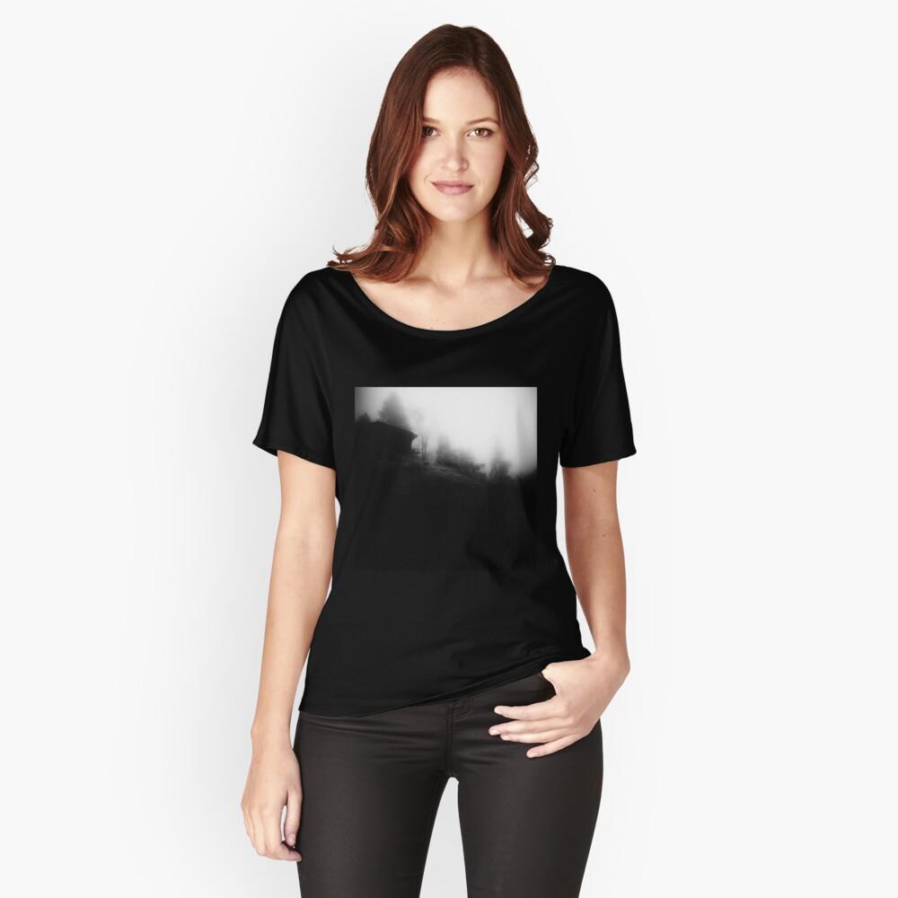 Kabine an einem nebligen Morgen Loose Fit T-Shirt