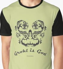 Grohl is God Graphic T-Shirt