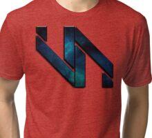 Vaporization Nation - Edgy Logo Tri-blend T-Shirt