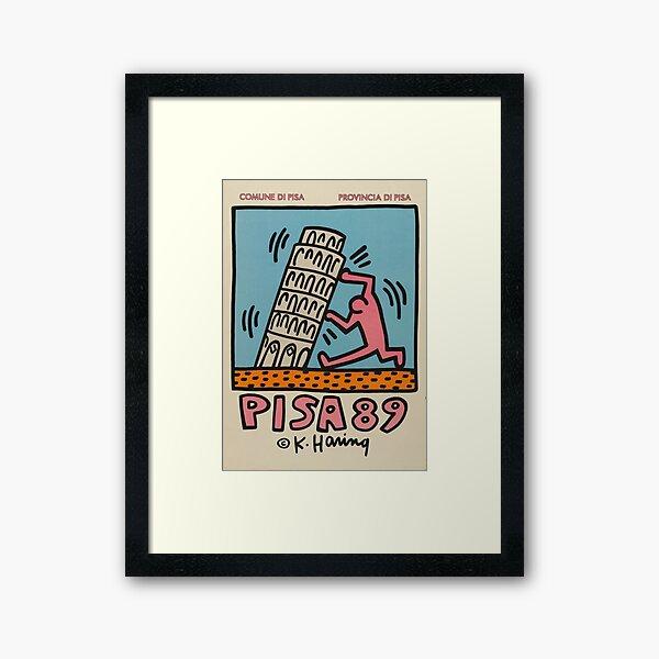 Pisa Haring Museum Framed Art Print