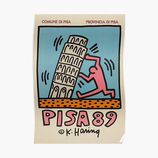 Pisa Haring Museum Poster