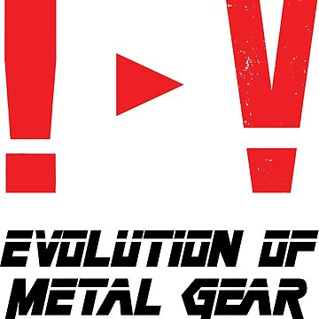 Evolution of Metal Gear by the-flash