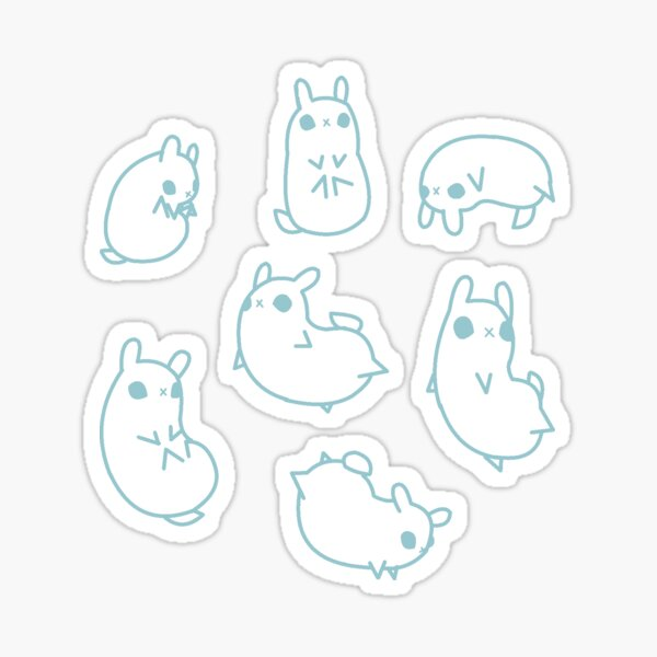 Bunny Bundle Sticker