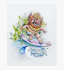 Balinese surf print! Photographic Print