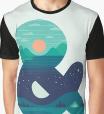 Day & Night Graphic T-Shirt