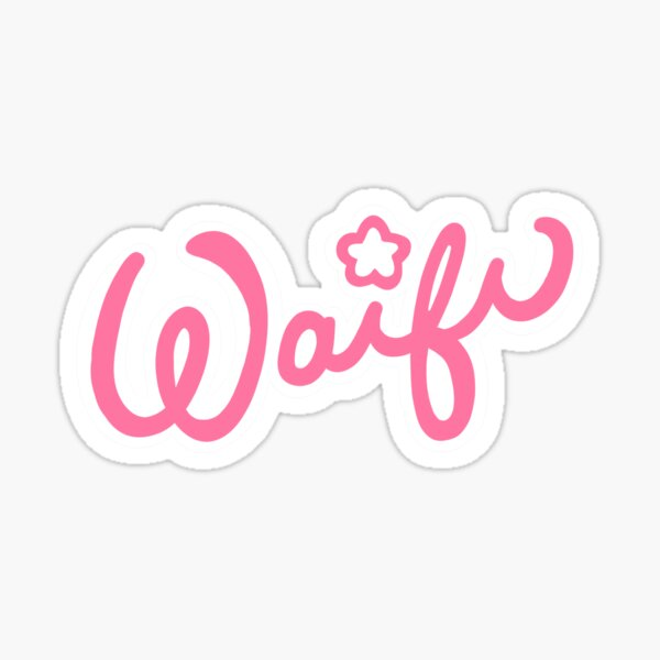 Waifu Logo Sticker