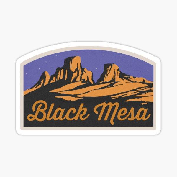 Black Mesa - Gaming Luggage Label Sticker
