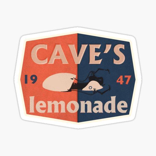 Cave's Lemonade - Gaming Luggage Label Sticker