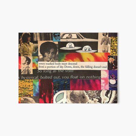 """Rogue Peace"" collage art design  Art Board Print"