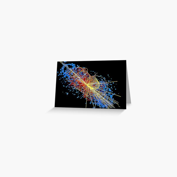 Particles Greeting Card