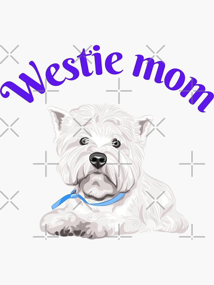 Westie Mom West Highland Terrier Westie Vintage by -VaLLy-