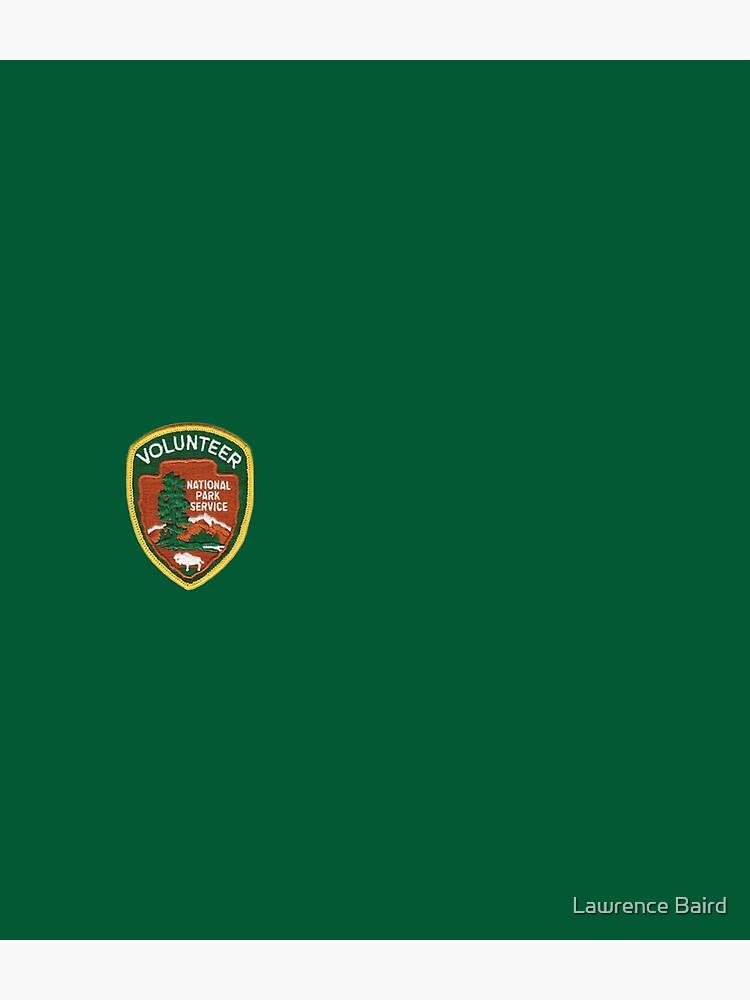 U S National Park Service Volunteer by lawrencebaird