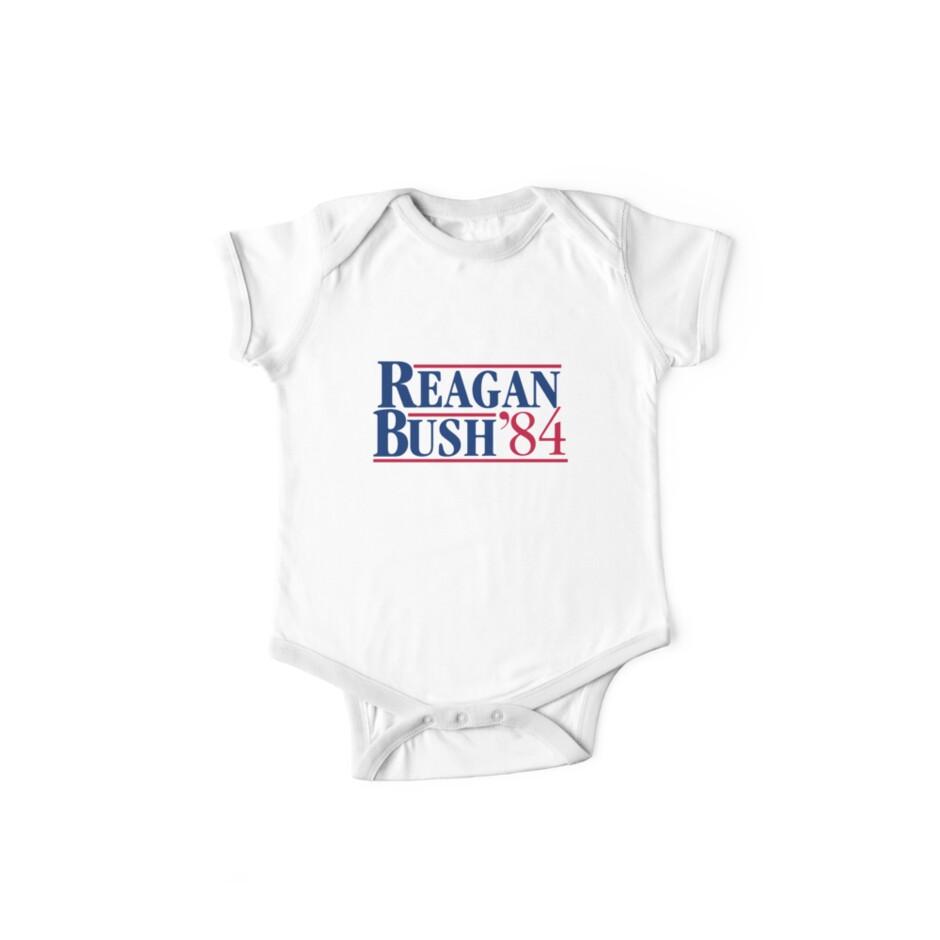 Reagan Bush by HaroldJem