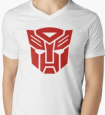 Autobot Men's V-Neck T-Shirt
