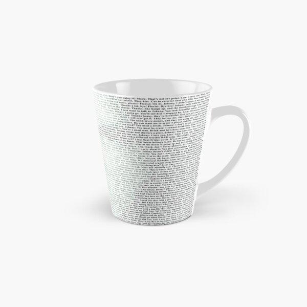 The Room Script in Full Tall Mug