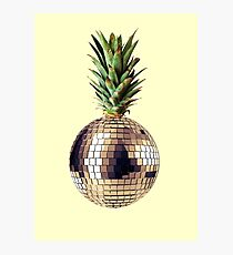 Ananas party (pineapple) Photographic Print