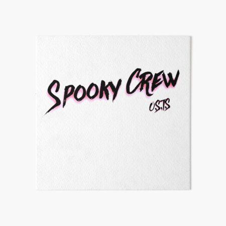 Spooky Crew Art Board Print
