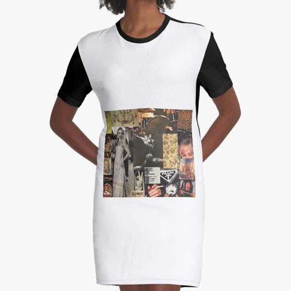 """Breathtaking"" collage art design  Graphic T-Shirt Dress"
