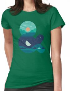 Day & Night Womens Fitted T-Shirt