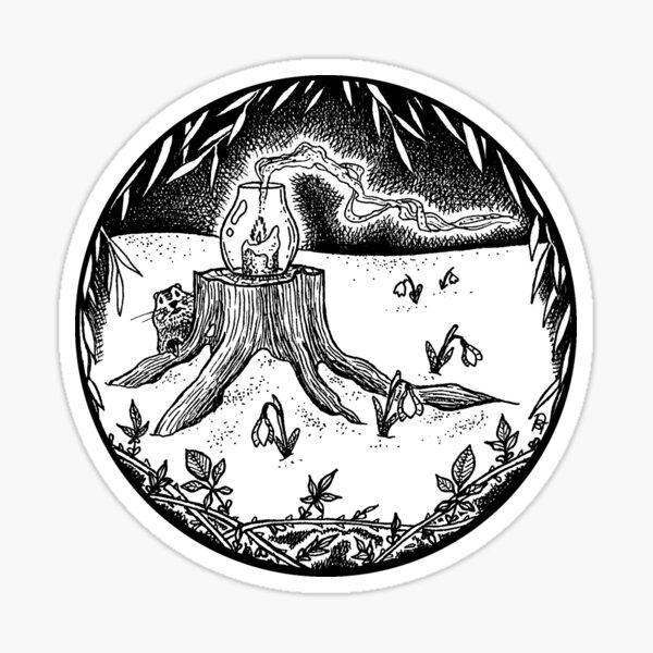 February Portal Sticker