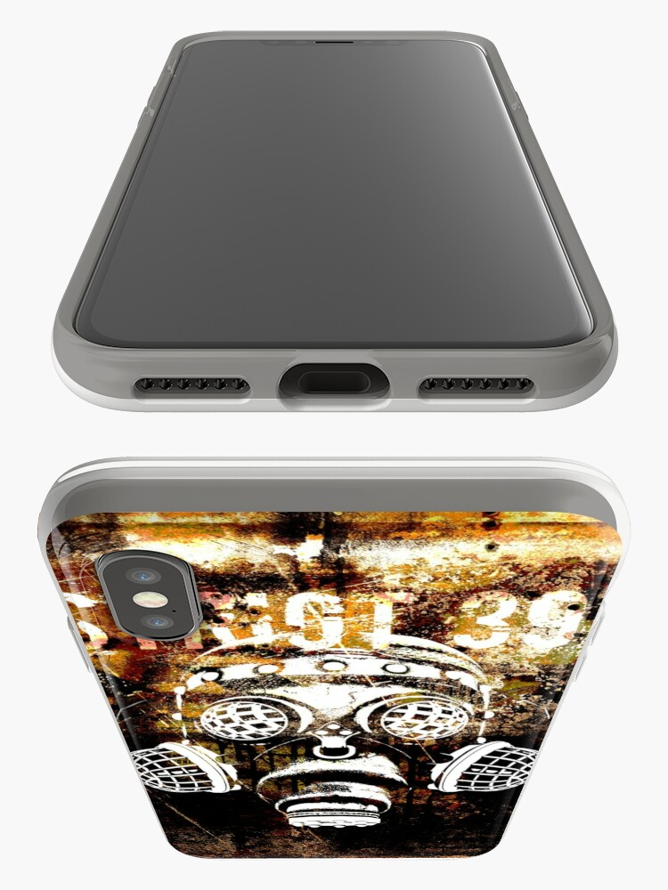 Alternate view of Another Steampunk / Cyberpunk Gas Mask iPhone Case & Cover
