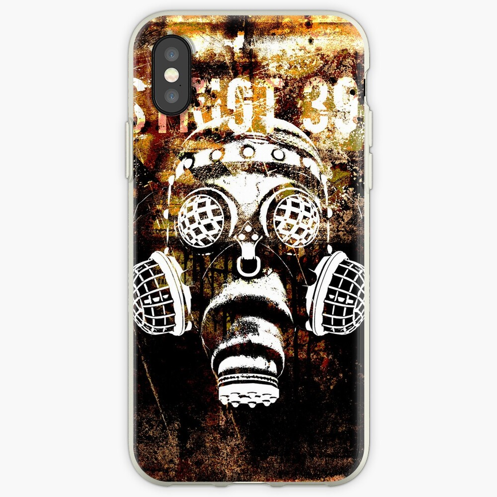 Another Steampunk / Cyberpunk Gas Mask iPhone Case & Cover