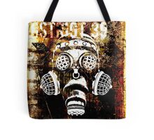 Another Steampunk / Cyberpunk Gas Mask Tote Bag