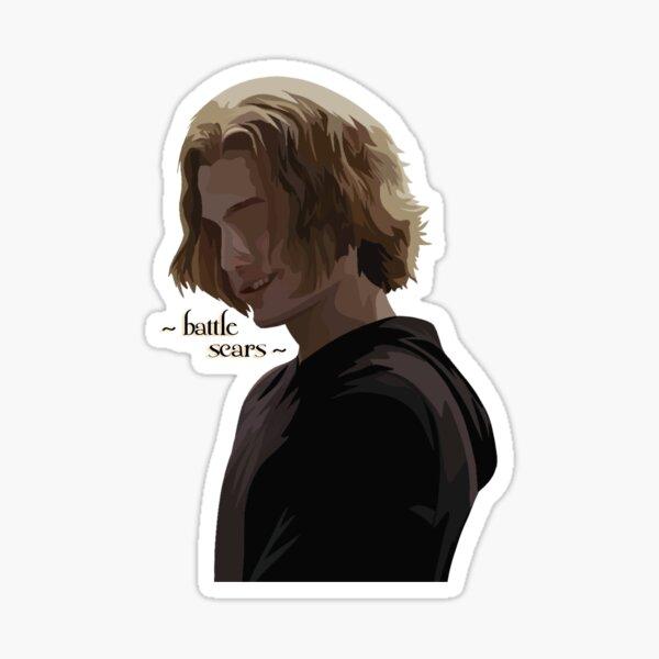 ~battle scars~ Sticker
