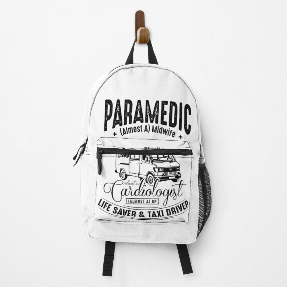 Paramedic - Life Saver and Taxi Driver Backpack