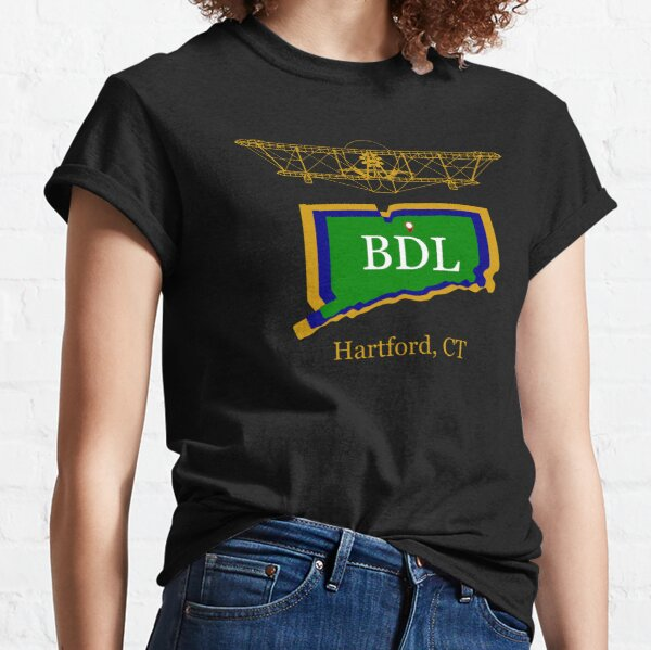 Connecticut Commercial Airport BDL Classic T-Shirt
