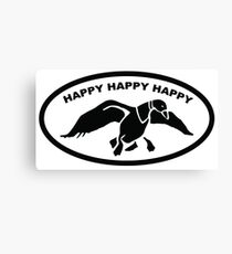Happy happy happy Canvas Print